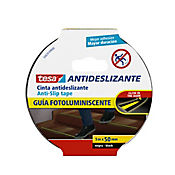 Cinta Antideslizante Negra 48mm5m Fotoluminiscente