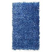 Tapete Shaggy Mix 60x110 cm Azul