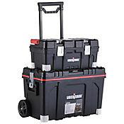 Carro profesional con organizador buke 2 cajas de 22+25pulg