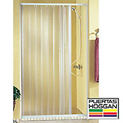 Puerta plegable ducha recta 180x180cm - Puerta plegable bano ...