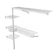 Practi Closet Rejilla Ancho Hasta 2x2x0.4 mt Blanco