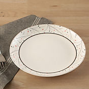 Plato 20 cm leaf cerámica