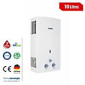 Calentador 10 Lts Paso Tiro Natural Gas Propano