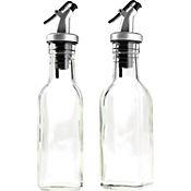 Aceitera Y Vinagrera En Vidrio 150 Ml X 2 Unidades