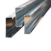 Perfil C 160x60x2.0mm galvanizado