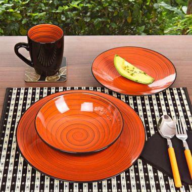 Vajilla 4 Ptos 16 Pzs Indies Spice - Thomson Pottery - 215909 a77e32c59110