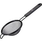 Colador 8 cm plástico mango negro
