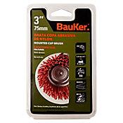 Grata 3 pulgadas nylon copa vastago 1/4 pulgada Bauker 1BS7852
