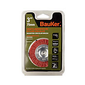 Grata plana nylon 75mm vastgo 1/4 pulgada Bauker 1BS7732