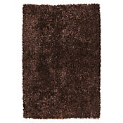 Tapete Shaggy Viscosa 160x230 cm Mix Café