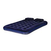 Colchón Doble + 2 almohadas + Bomba Manual