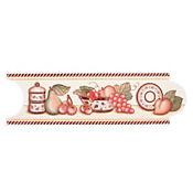 Listello para Cocina Señorial 8x25 Centímetros Café
