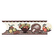 Listello para Cocina Melissa 8x25 cm Terracota