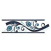 Listello para Baño Roleo 8x25 cm Azul