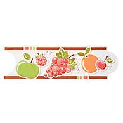 Listello para Cocina Fruta Fresca 8x25 cm Café