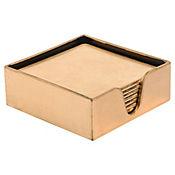 Set x6 Porta Vasos 10cm Dorado con Caja Dear San