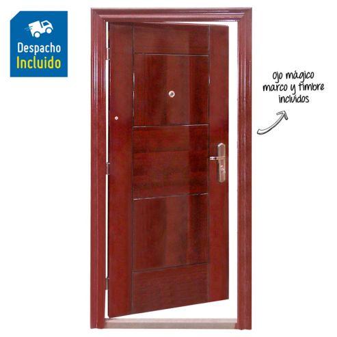 Puerta Seguridad Apertura Izquierda 0 96x2 05x0 07m Broni