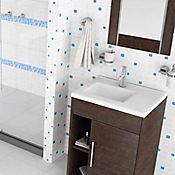 Pared Cerámica Dinamarca 25x35 cm Caja 2 m2 Azul