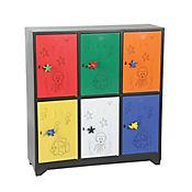 Locker Infantil Multicolor