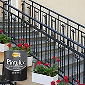 Pintulux  Negro 3 En 1 de 1/4 de Galón