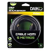 Cable hdmi alta definicion 5 metros