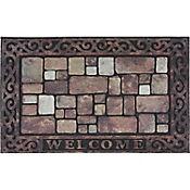 Tapete Welcome Ladrillo 45x75 cm