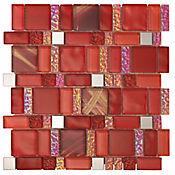 Mosaico América red 30x30 cm