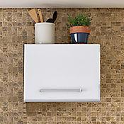 Mueble para Campana Basculante Clásica 60 cm 1 Puerta Blanco