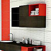Pared Cerámica Odish Blanco 32.3x56 cm Caja 1.45 m2