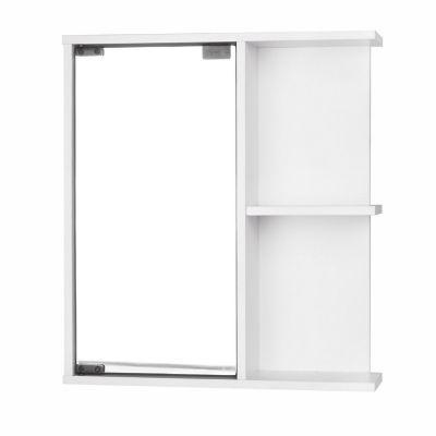Botiqu n para ba o con espejo 1 puerta cm blanco practimac 262484 - Fijaciones para espejos ...