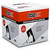 Estuco Plástico Topex Caja 20Kg