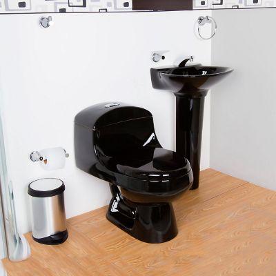 Combo sanitario montecarlo het negro corona 264110 - Muebles para sanitarios ...