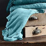 Cobija Flannel 200x220 cm Turquesa