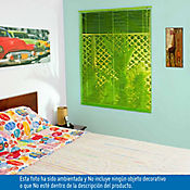 Persiana PVC 100x140 cm Vibra Verde