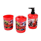Set Baño Avengers 3 Piezas