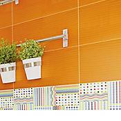 Pared Cerámica Arcoíris 25x43.2 Centímetros Caja 1.29m2 Naranja