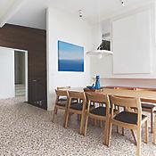 Piso Cerámico Saucillo 42.5x42.5 Centímetros Caja 1.63m2 Beige Café