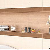 Piso pared Aster Chocolate 32.3x56 cm Caja 1.45 m2