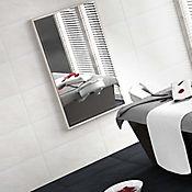 Piso pared Basáltico Blanco 32.3x56 cm Caja 1.45 m2