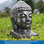 Figura Buda Grafito 18X19X31 cm