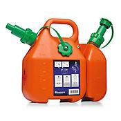 Bidon Combi Combustible Naranja 6 Litros