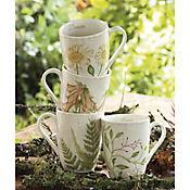 Mug 320cc Lovely Garden 4 Unidades