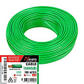 Cable #10 100m Verde