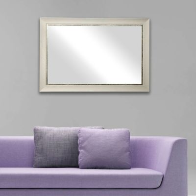 Espejo vintage rectangular blanco 275076 - Fijaciones para espejos ...