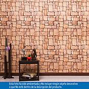 Papel Mural Piedra 53 cm x10 Mts Zen