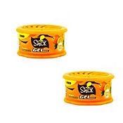 Ambientador Gel Citrus 80grs Duo Pack