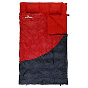 Saco Para Dormir Extra Size Rojo Con Gris
