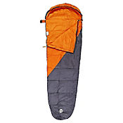 Saco Para Dormir Micro Bag Naranja Con Gris