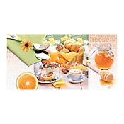 Base Cerámica Decorada para Cocina Verano 30x60 Centímetros Multicolor