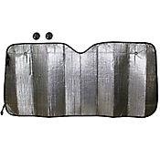 Tapasol Frontal para Auto Plateado 150x70 cm